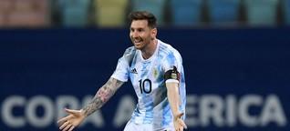 Vor dem Finale der Copa América: Ist das der beste Messi aller Zeiten?