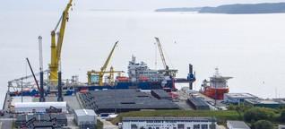 Sanktionen gegen Russland: Was bringt ein Stopp von Nord Stream 2?