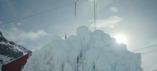 Lebenswichtiger Eiskegel im Himalaya