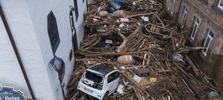 Flut in NRW und Rheinland-Pfalz: Die Wetterkatastrophe, die den Wahlkampf verändert