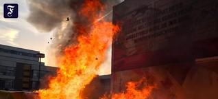 Uni-Campus in Frankfurt: 20 Tonnen Bücher verbrannt