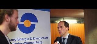 Energiereporter Tobias Mayr beim GIIF2017 - Grüne Startups im Fokus - Jochen Wermuth im Interview