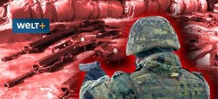 Gefährliche Verluste: Deutschland sucht seine Waffen - WELT