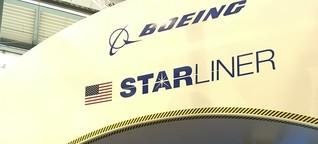 """Der """"Starliner"""" auf dem Weg ins All"""