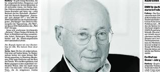 Stefan Austs Erinnerungen an ein Leben als Journalist in Deutschland