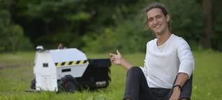 Münchner Start-up kämpft für mehr Klimaschutz - mit einem Roboter
