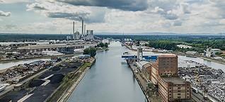 Mülldeponien statt Kultur im Rheinhafen