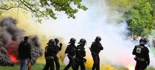 Polizei - Wie bei G20