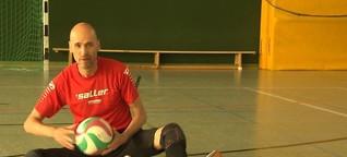 Sitzvolleyballer Martin Vogel im Porträt