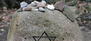 Nach der Flut auf dem jüdischen Friedhof