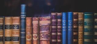 Was so alles in Büchern liegen bleibt