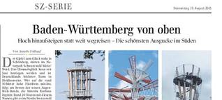 Baden Württemberg von oben
