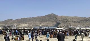 Künstler Yama Rahimi über die Lage in Afghanistan