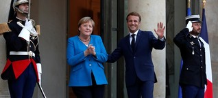 Macron empfängt Kanzlerin: Die Konstante Angela Merkel