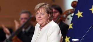 Zur Einheit: Merkel spricht so emotional und persönlich wie selten