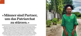 """Rebeca Gyumi: """"Männer sind Partner, um das Patriarchat zu stürzen."""""""