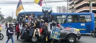 Proteste und Polizeigewalt in Kolumbien: Mit Kochtöpfen statt Schutzhelmen