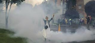 Protestwelle in Kolumbien: Auf der Straße