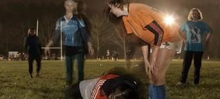 Mud'n'Tackles: Selbstversuch Frauen-Rugby
