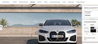 BMW Konfigurator: Endlich per Smartphone zum Wunsch-BMW